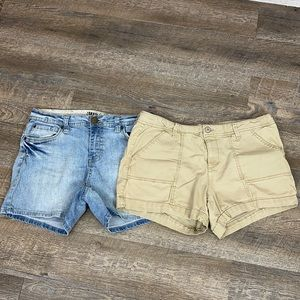 Bundle of two pair of size 14 shorts